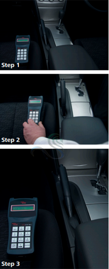 3 easy testing steps with AutoStop Mini Plus