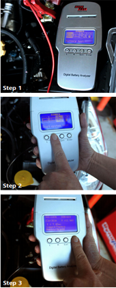 Autotest Battery Analyser